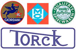 Tretauto Marken Torck, Rolly-Toys, Giordani, Morellet Guerineau